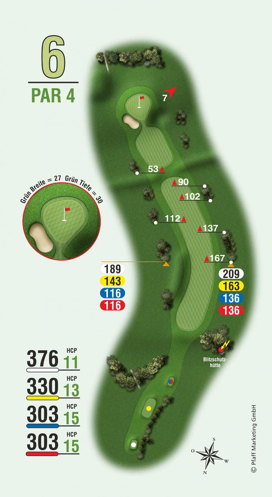 golfbahn 6 par 4 golf club sylt e v. Black Bedroom Furniture Sets. Home Design Ideas