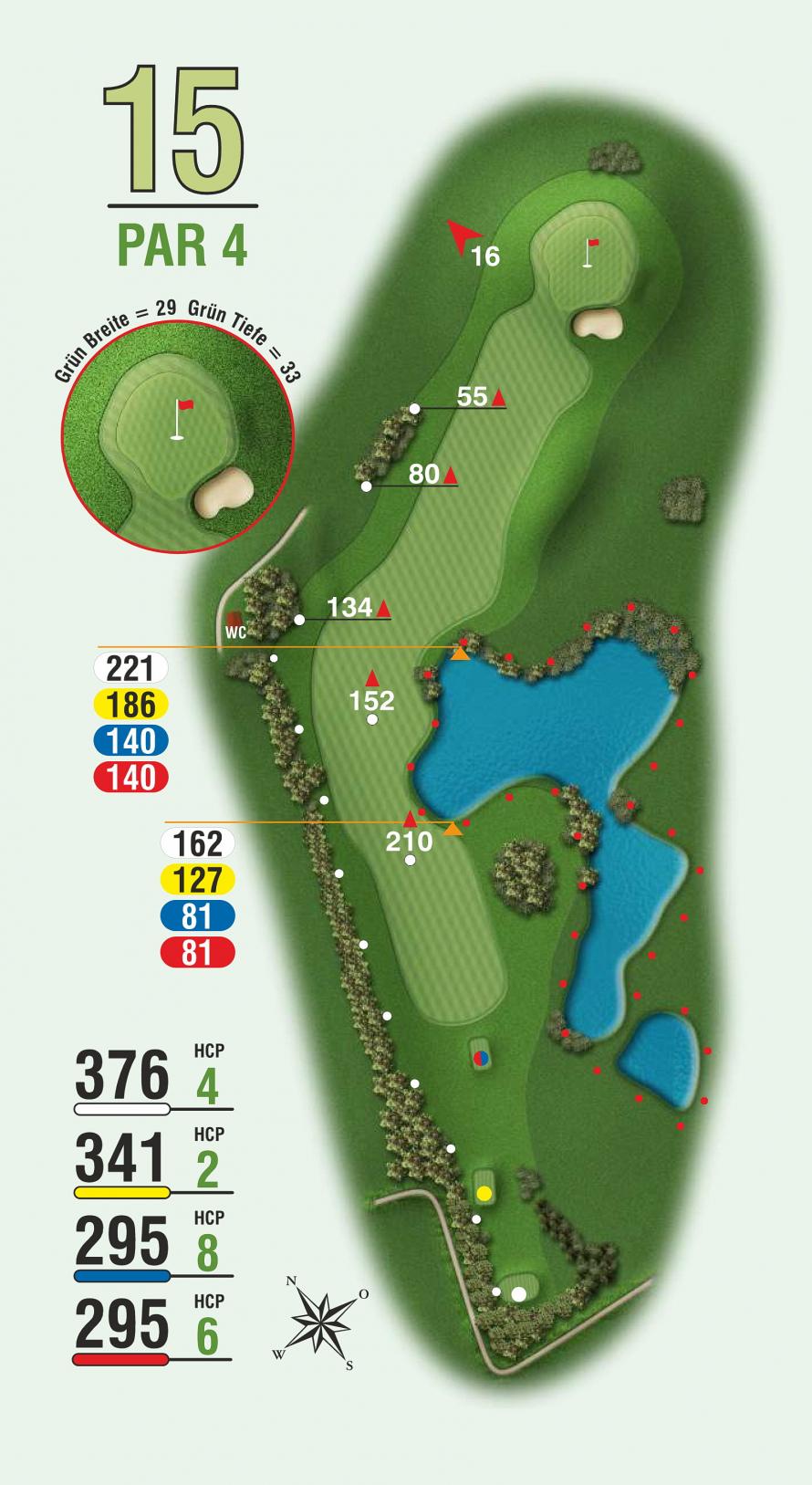 golfbahn 15 par 4 golf club sylt e v. Black Bedroom Furniture Sets. Home Design Ideas